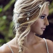 bridal headpiece bridal headpiece boho bridal halo wedding headpiece