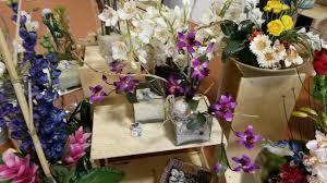 Traditional Flower Arrangement - silk flower arrangements powder room traditional with bath