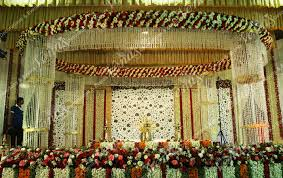 venu u0027s wedding planners stage decorations kerala india