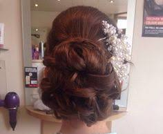 barrel curl hairpieces bride barrel curl bun cheer me updo pinterest barrel curls