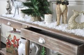 christmas decorations for sofa table snowflake christmas decor honey we re home