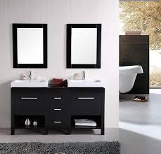 new york 60 u2033 double sink vanity set in espresso design element