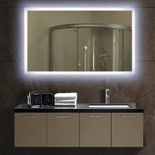 Bathroom Mirrors Montreal Lit Bathroom Mirror Lighted Mirrors Backlit Led For Plan 5