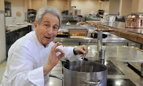 cuisine des grands chefs michel guérard honore paul bocuse en parrainant le dîner des