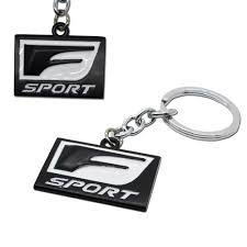 lexus rx 400h obzor 1pc 3d metal f sport keychain key chain fob ring for lexus rx 400h