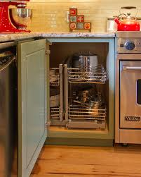 Kitchen Cabinet Organizer Ideas Inspiring Corner Kitchen Cabinet Storage Solutions On Kitchen For