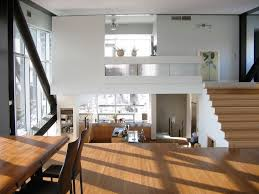 interior design for split level homes floating structure modern house design with industrial style