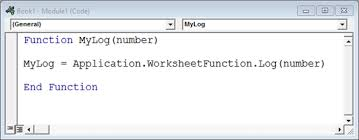 logarithms in vba when a log is not a log engineerexcel