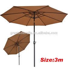 Orange Patio Umbrella by Outdoor Patio Metal Outdoor Umbrella For Cantilever Garden