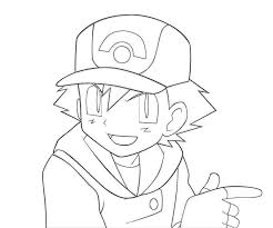 pokemon color pages pikachu ash and his pokemon coloring pages getcoloringpages com