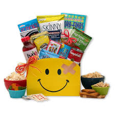 get well soon basket gift basket drop shipping smiles across the get well gift