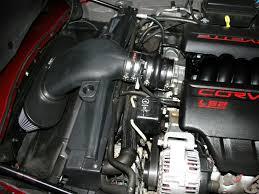 2005 corvette engine airaid corvette ls2 cold air intake kit black synthaflow 2005 07