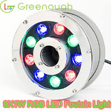led fountain lights underwater gnh uw 9 1w a underwater fountain light led underwater