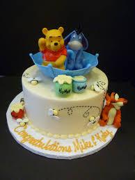 winnie the pooh baby shower decorations 11 winnie the pooh shower cakes photo baby shower cakes with