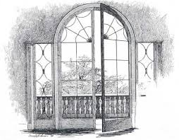 drawings of windows and doors french window also unusual in