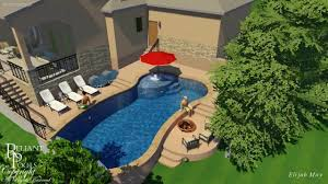 crystal falls swimming pool addressing sloped yard youtube