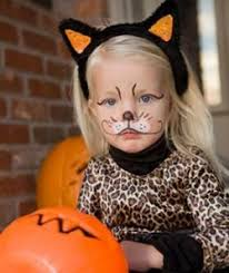 Kids Cat Halloween Costume Leopard Makeup Cat Makeup Kid Costume Www Sunkissedandmadeup