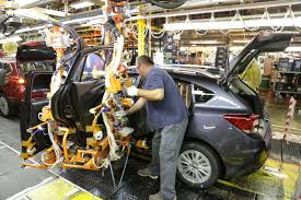 first car ever made first american built subaru impreza rolls off the line in