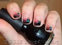 love4nailart cosmic nail design tutorial for natural nails by