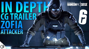 R6 Siege Operation White Noise Ela And Twitch In Depth Zofia Cg Trailer White Noise Tom Clancy S Rainbow