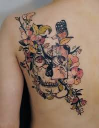 50 butterfly tattoos with flowers for tatting and