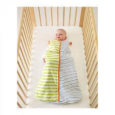 Baby Blanket Comforter Ikea Pyttelilla Wearable Baby Blanket Blue Green Stripes Crib