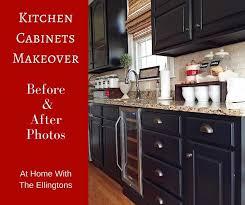 black kitchen cabinets makeover reveal hometalk