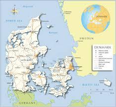 Printable Maps Printable Map Of Denmark Printable Maps