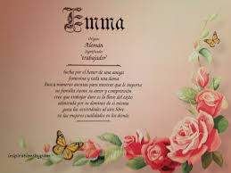 emma first name meaning art print spanish emma name