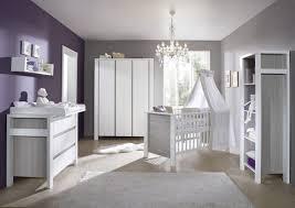 chambre bebe bébé lit commode armoire gris schardt