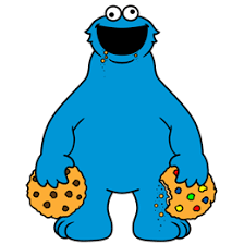 cookie monster eating cookies clip art library