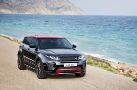 land rover iran updated 2017 range rover evoque gains more tech and new ember