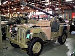 land rover australian file land rover series 2a swb with 106mm m40a2 recoilless rifle