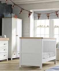 mothercare lulworth 3 piece nursery furniture set classic white
