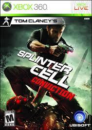 tom clancy u0027s splinter cell conviction xbox 360 classic game