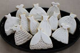 bridal luncheon favors wedding dress cookie favors sweet 16 bridal shower prom custom
