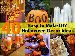 Halloween Decor Crafts Halloween Decorations Easy To Make At Home Homemade Halloween