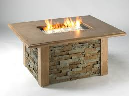 Rectangle Fire Pit Table Fire Pits And Tables Gallery Flame Connection Serving Southern