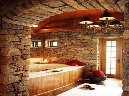 Stone Bathroom Designs The 25 Best Natural Stone Bathroom Ideas On Pinterest Rock