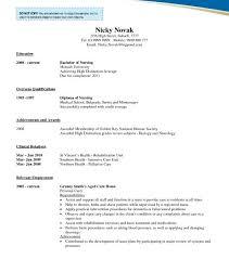 Aged Care Resume Sample by Plush Nursing Student Resume Template 6 Extravagant 10 Entry Cv