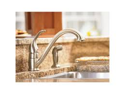 low arc kitchen faucet faucet 7840 in chrome by moen