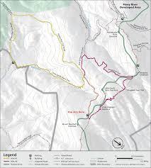 Appalachian Trail Virginia Map by Keyser Run Shenandoah National Park U S National Park Service