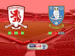 sky bet chionship table match preview middlesbrough vs sheffield wednesday blogs de