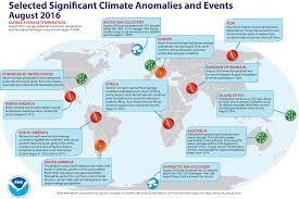 South America Climate Map by Global Climate Report August 2016 State Of The Climate