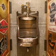 Stainless Toilets Beer Keg Urinal Stainless Novelty Toilet For Bistro Cafe