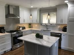 white kitchen cabinets with light grey backsplash kitchen remodel white cabinets light gray backsplash with