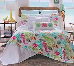Tropical Bedspreads And Coverlets 36 Favorite Starfish Comforter U0026 Quilt Sets Beachfront Decor