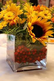 table centerpieces with sunflowers thanksgiving centerpiece sunflower centerpieces sunflowers and