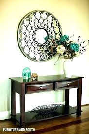 foyer table and mirror ideas table and mirror for entryway top hallway console table and mirror