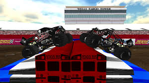 real monster truck videos sim monsters